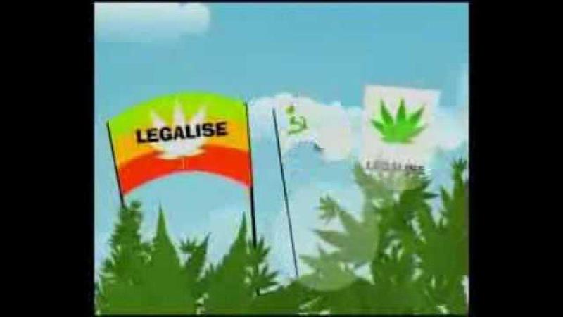 Децл Лигалайз Ганджа Detsl Legalize Weed