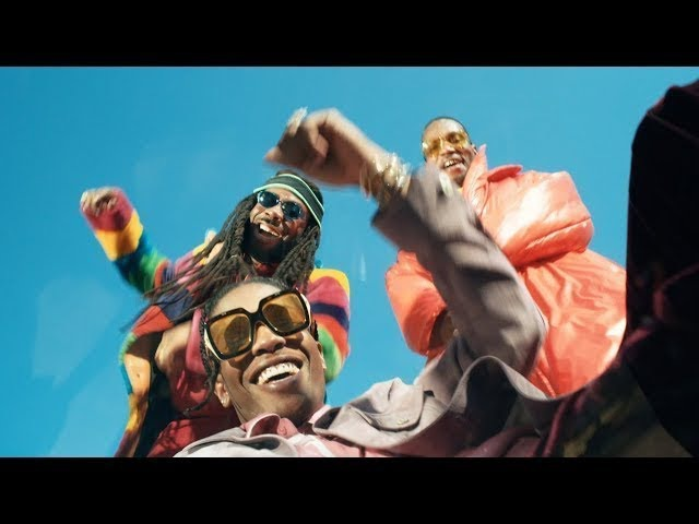 DRAM Gilligan ft A$AP Rocky Juicy J OFFICIAL VIDEO