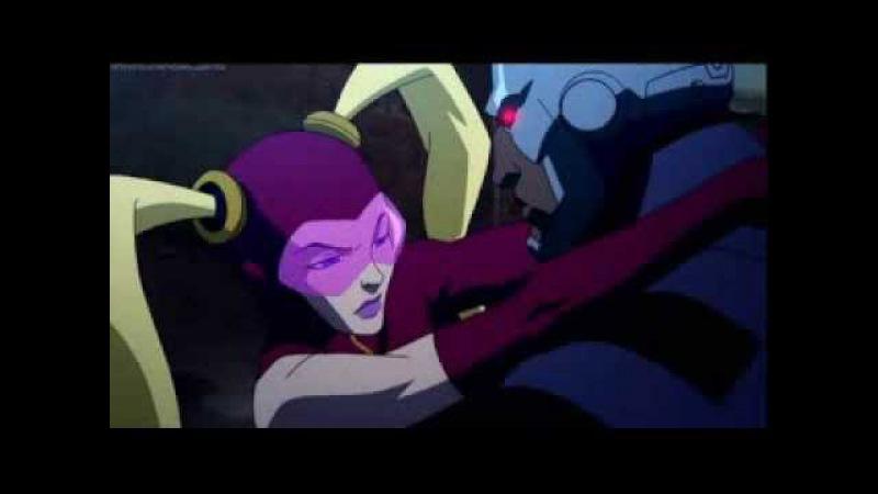 Yo yo vs Batman Justice League The Flashpoint Paradox eng