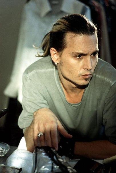 Джонни Депп в объективе Боба Фрейма, 2001
