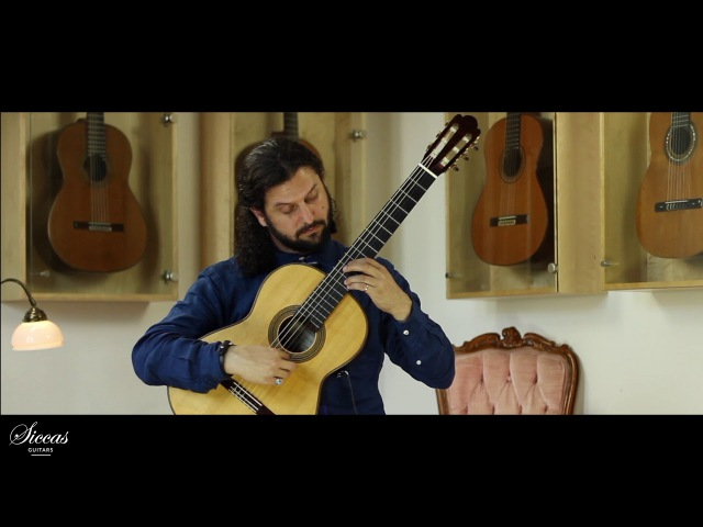Aaron Larget Caplan plays Una Limosna Por El Amor de Dios Agustín Barrios Mangoré a 2015 Fritz Ober