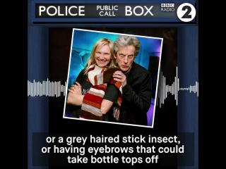 A grey haired stick insect with eyebrows that could take bottle tops off