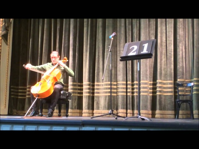 Ligeti Cello Solo Sonata Pablo Casals International Competition Santiago Cañón Valencia