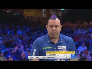 Gary Anderson vs Peter Wright (Champions League of Darts 2017 - Group B)