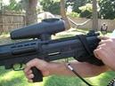 Tippmann B 5 Bullpup shooting