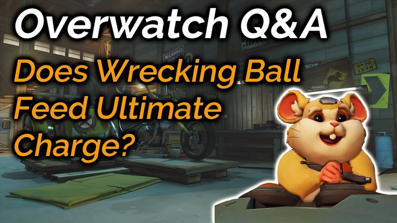 Does Wrecking Balls Adaptive Shield Feed Ultimate Charge | Overwatch QA