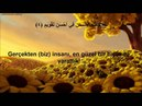 Tin Sûresi (Mealli) Abdullah ALTUN
