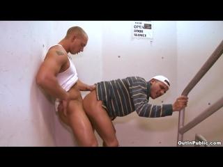 Out In Public - Dick In The Sluts Butt! (John Magnum  Tristan Mathews)