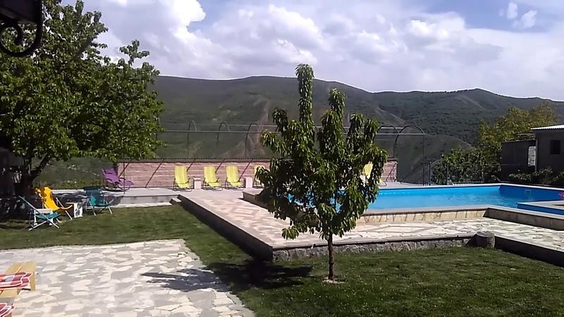 Комфортный кемпинг в селе Гохт около Гарни май 2019 туризм в Армении
