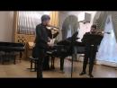 Шостакович Пять пьес для двух скрипок и фортепиано исп Ф Безносиков М Фейман А Тамаркина