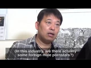 2. интервью с японскими порноактерами, part 2 (jap, eng sub) interviewing japanese male pornstars