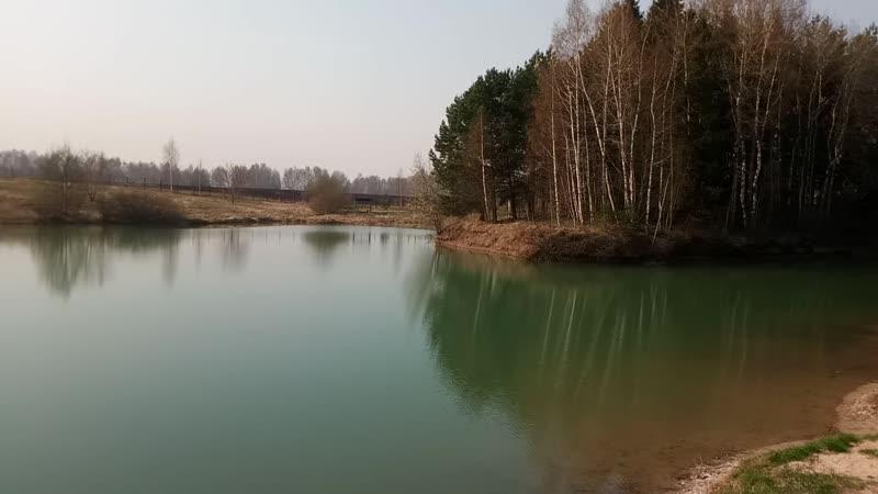 Весна в Салыни Красивые краски природы на нашем озере