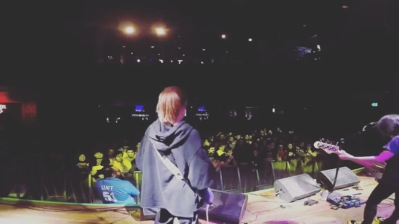 "Ikkyu Nakajima on Instagram ""tricotUStour2018 sandiego potage houseofblues thanks"""