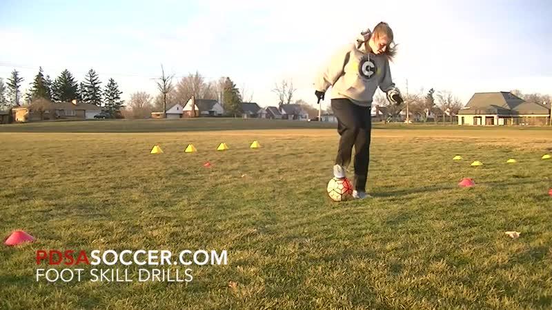 PDSA Soccer Private training Elizabeth 1 30 16