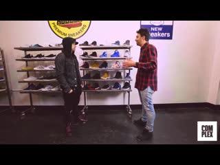 Outpac x VPerevode: Eminem прикупает сникеры с Complex