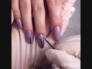 Пошаговый дизайн ногтей