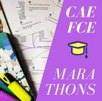 Для тех, кто летом планирует готовиться к Кэмбриджским экзаменам CAE (уровень C1: Advanced) и FCE (Уровень B2: Upper-intermediate).