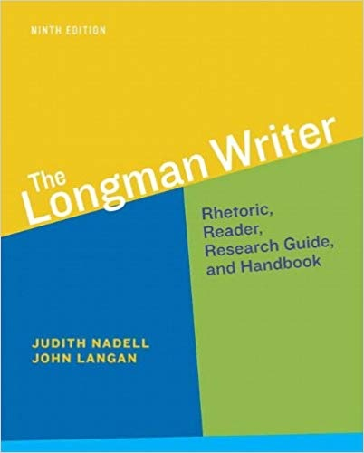 The Longman Writer, 9th edition
