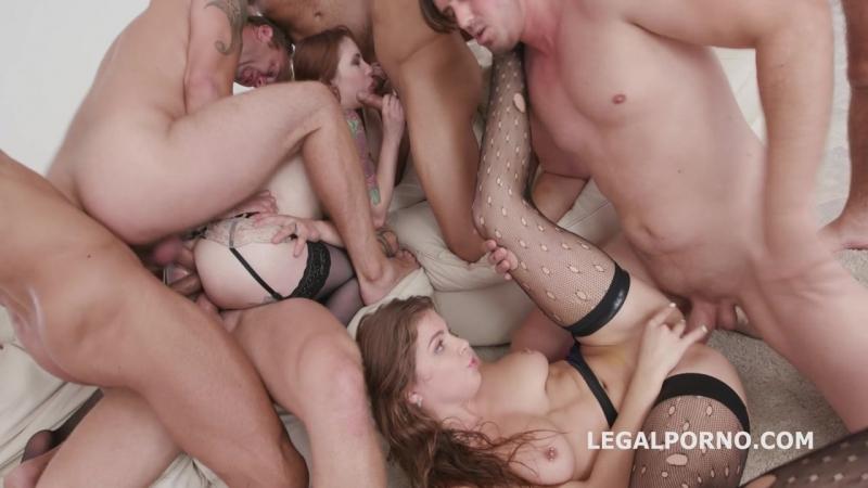 What a Gape 2 Anna de Ville Renata Fox Balls Deep DAP, TP, ATOM, Swallow