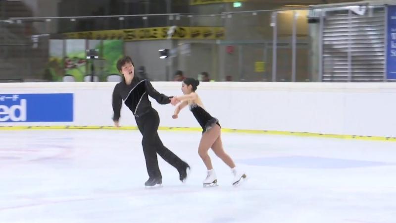 Miura Riku _ Ichihashi Shoya (JPN) _ Pairs Short Program _ Linz 2018