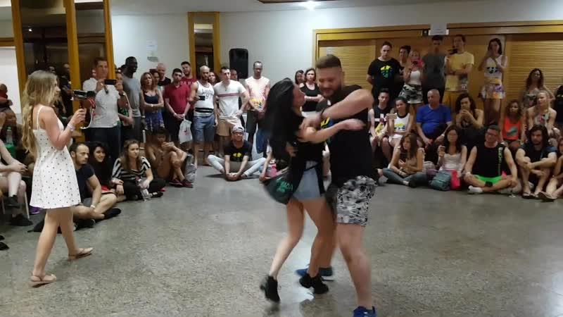 Leo and Ana \ zouk (Demo) - Lambada Festival Vitoria - 2019