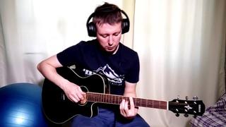 Apex twin Film guitar boss rc 300 cover