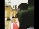 Кератиновое выпремление волос.