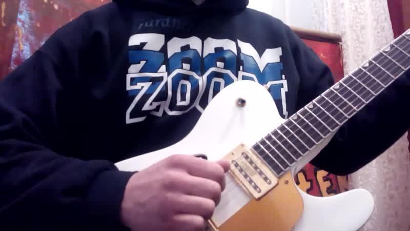 Fender Telecaster Thinline Double Bigsby White China Пример звучания дерева