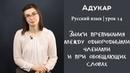 Знаки препинания между однородными членами и при обобщающих словах Русский язык