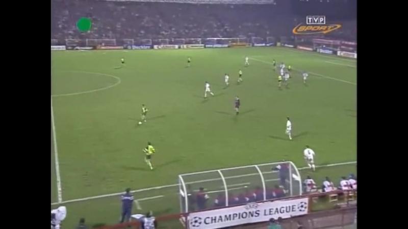38 CL-1996/1997 Widzew Łódź - Borussia Dortmund 2:2 (20.11.1996) HL