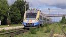 Дизель поезд Д1М 004 на ст Стрэшень D1M 004 DMU at Straseni station