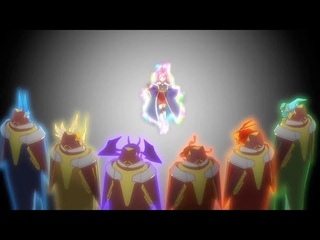 Satsuki summons the 6 Elemental Kings **strongest spell in Union**