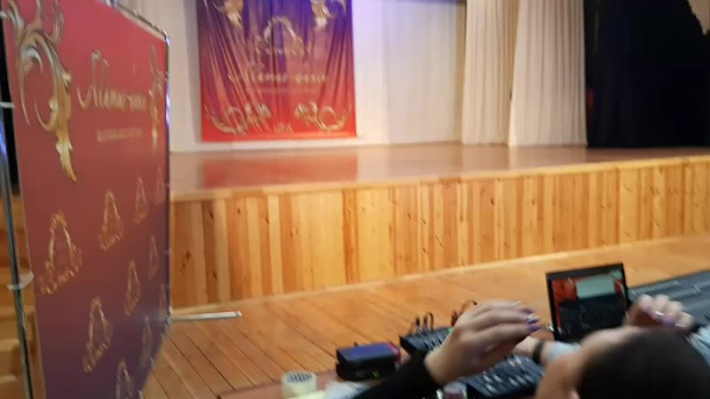 Юниорский состав Мувашахвт выступление на фестивале Аламар данс