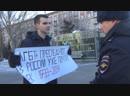 Волгоград казак напал на защитника чеченских геев