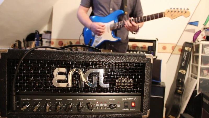 ENGL Gigmaster 30 Head E305 Demo Les Paul and Strat Dan Leggatt