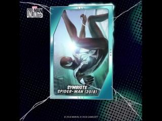 Symbiote spider-man (2018) - spider-man unlimited
