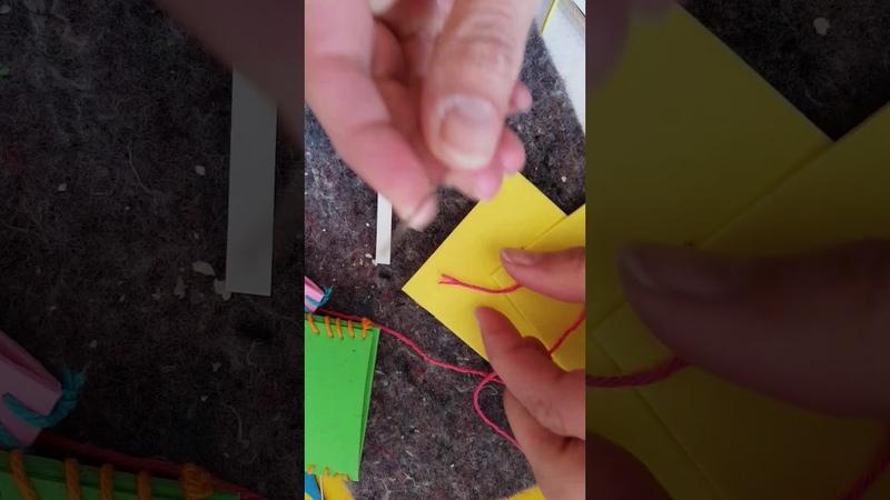 N fijn trucje om eenvoudig een draad door een naald te krijgen