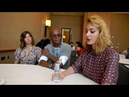 Origin Natalia Tena Fraser James Nora Arnezeder Interview SDCC 2018