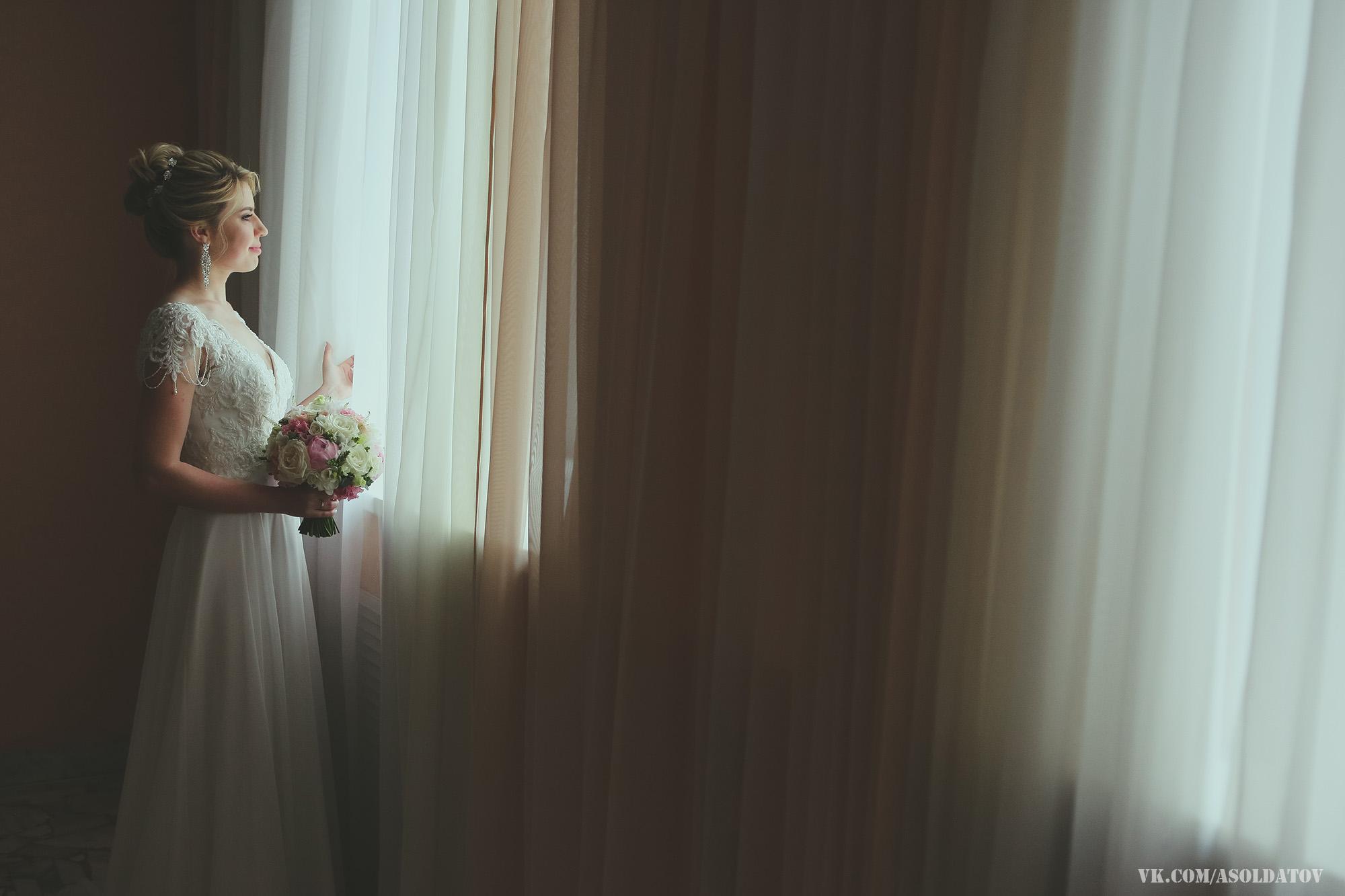 Свадебные фотографии из Дворца бракосочетания. Пенза.
