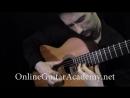 Hungarian Dance No 5 by J Brahms classical guitar arrangement by Emre Sabuncuoglu