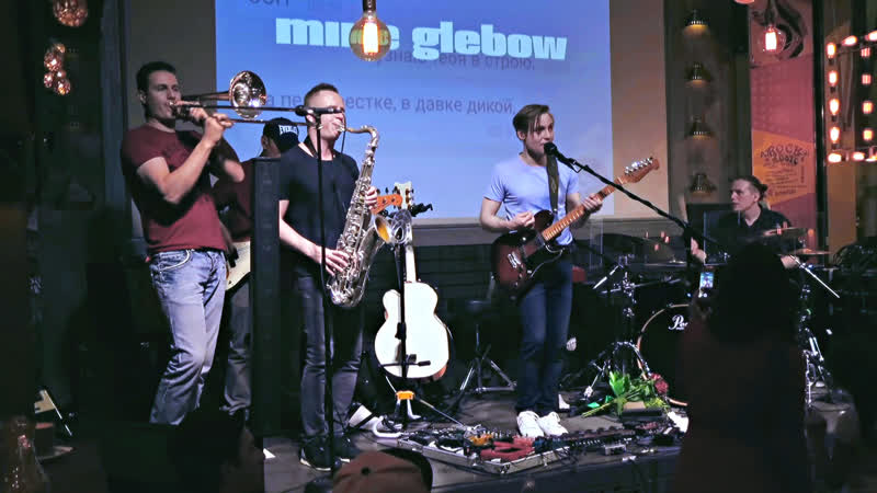 Mike Glebow. Band - концерт в Unlock Cafe 16.05.2019