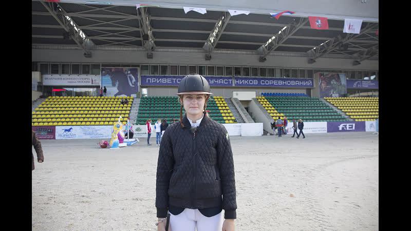 Ксения Хайрулина - победитель маршрута CSI2 (130)