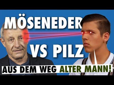 Roman Möseneder bietet Peter Pilz die Stirn! (Servus TV)