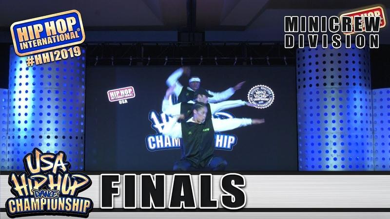 JMT Elektro - Gilbert, AZ (1st Place MiniCrew) at HHI's 2019 USA Hip Hop Dance Championship Finals