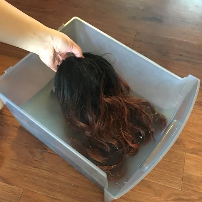 Как правильно мыть парик из искусственных волос: освежаем, восстанавливаем, спасаем