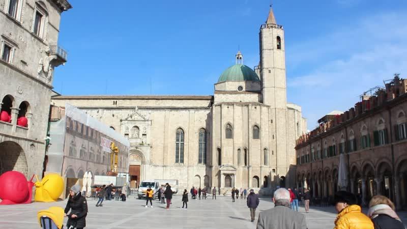 Piazza del Popolo Ascoli Piceno Italy 2019