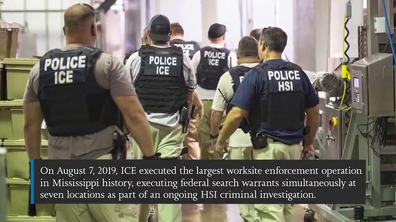 Das Video zu den Massenverhaftungen in den USA 🇺🇸