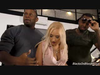 Amber deen – blacks on blondes [dogfart network. hd1080, big black cock, big tits, group sex, milf]