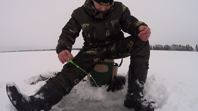 Рыбалка зимой в коми