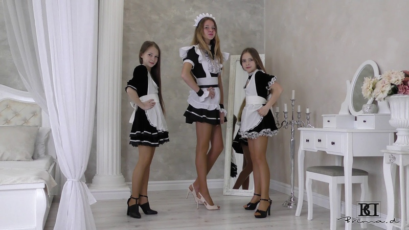 Jessy Rebecca and Sophie dress presentstion agency Brima d